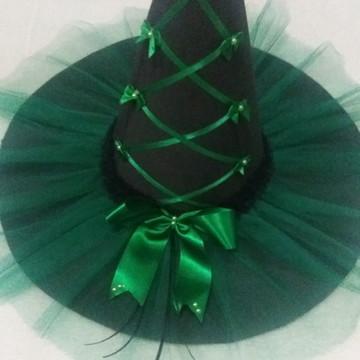 Chapéu de Bruxa Verde
