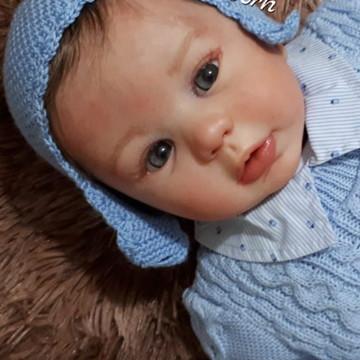 Boneca Bebê Reborn Theodoro Kit Kylin parece de verdade