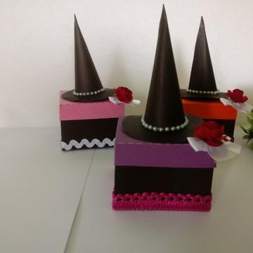 caixa 5x5 festa halloween - festa das bruxas