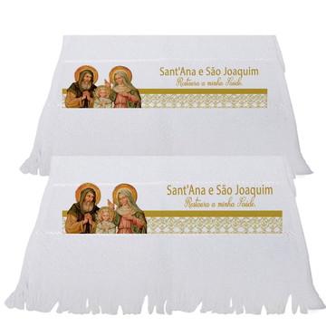 Toalha Personalizada Santos São Joaquim e Sant'Ana