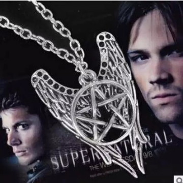 Colar Seriado Supernatural / Sobrenatural/ Pentagrama+Brinde