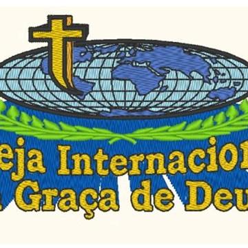 Matriz Para Bordar Igreja Internacional Graça De Deus