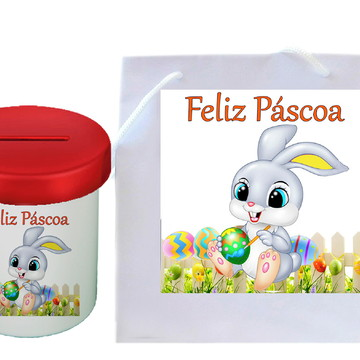 Presente Páscoa, COFRE DE PÁSCOA, Cofrinho PÁSCOA