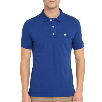 d41a41d215 Camisa Polo Masculina Azul Marinho