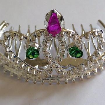 48 Coroa De Princesa Adereço Festa Coroinha Lembrancinha