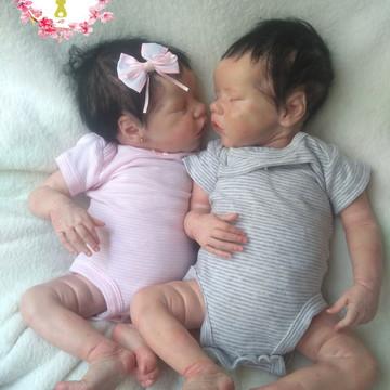 """Bebê reborn Gémeos (kit twin A e twin B) """" Sob encomenda"""""""