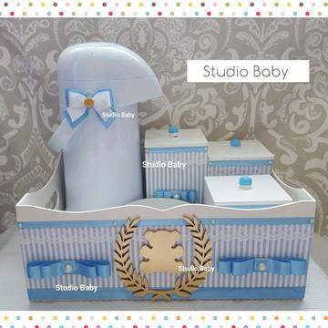 Kit Higiene Bebê Menino
