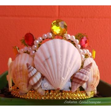 Coroa Conchas naturais