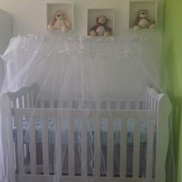 Mosquiteiro Berço+Mosquiteiro Carrinho+Bebê Conforto