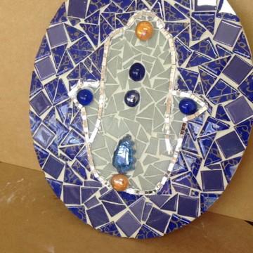 Quadro Parede ou Mesa Mosaico