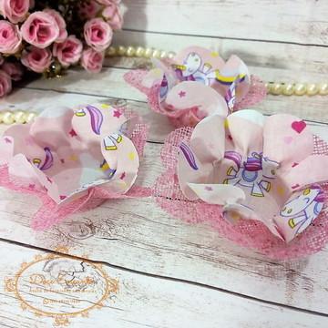 Forminhas para doces em tecido
