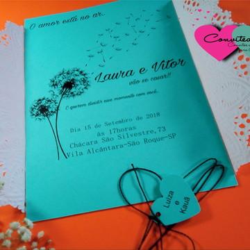 45b446ca0 Convite de Casamento - Wish