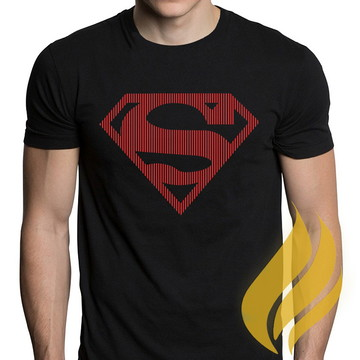 Camiseta Super Man Herói FRETE GRÁTIS!!