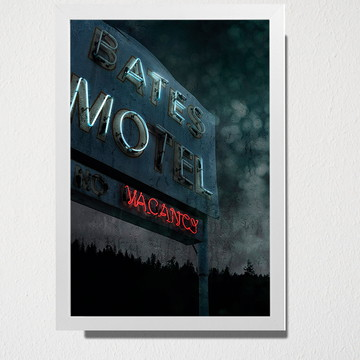 Quadro A3 Bates Motel
