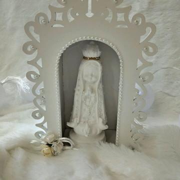 Oratório com Nossa Senhora Fatima Baby