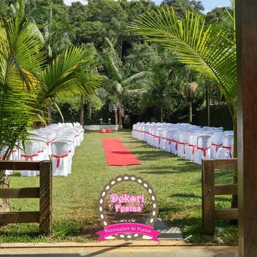 Locação de decoração Cerimonial de Casamento
