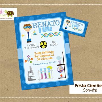 Convite Cientista