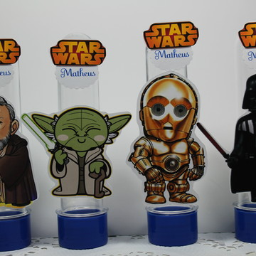 Tubetes Star Wars Personalizados