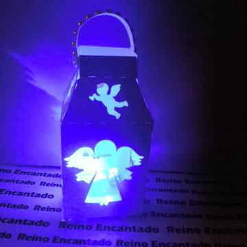 arquivo corte silhouette luminaria anjos batizado