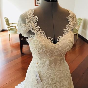 Vestido de noiva boho chic Santorini