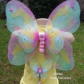 Asa de borboletas mesclada ( Kit)