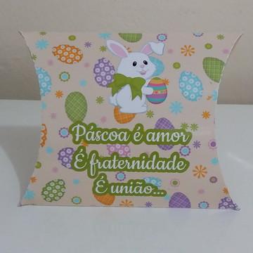 Caixa travesseiro (Arquivo de Corte Silhouette)