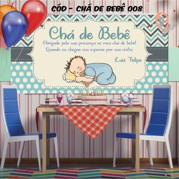 Painel festa decoração Chá de bebê