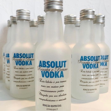 Garrafinha Vodka Absolut
