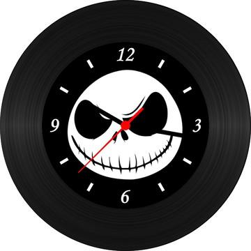 Relógio de Vinil-Estranho Mundo de Jack