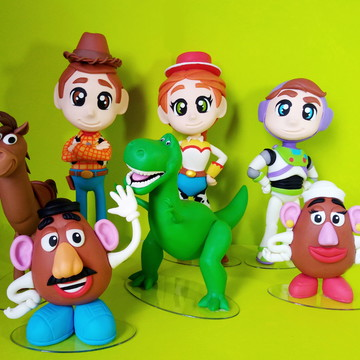 Toy Story Kit 7 personagens