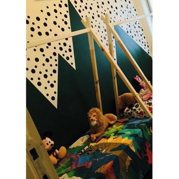 Cama Cabana Montessori Aventura com Cama Auxiliar - Solteiro