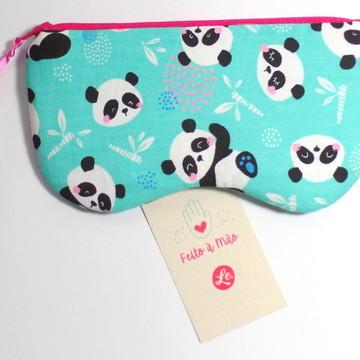 Necessaire | Porta Óculos - Panda