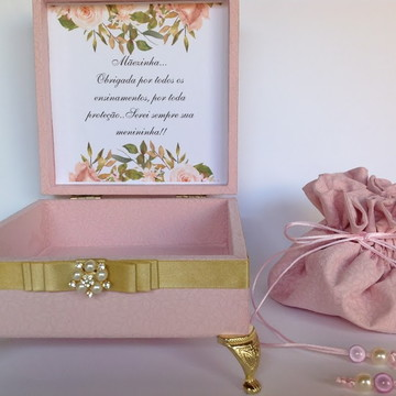 Caixa Presente Mãe da Noiva Pronta entrega