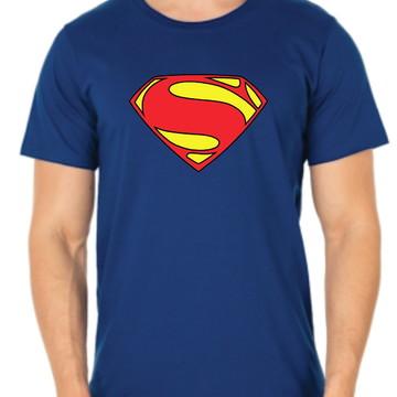 Camiseta man of steel SuperMan