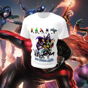 30fd7a126e Comprar Camisa Camiseta Blusa Colorida Personalizada Jovens Titãs