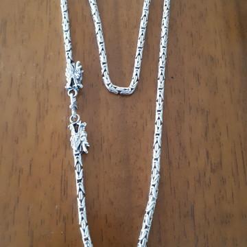 corrente peruana prata 925
