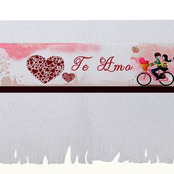 Toalha Namorados - Brinde Igreja Encontro de Casais, Amor