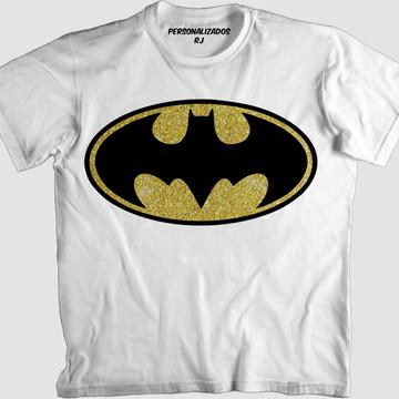 Camisa LOGO DO BATMAN PURPURINADO