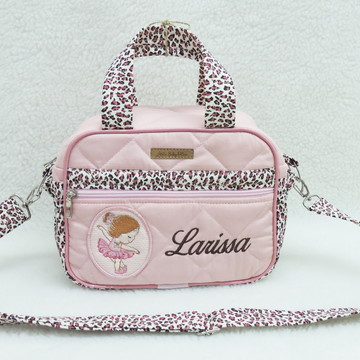 ed3ae160b48 Bolsa Bebe Pequena Rosa Classic Menina
