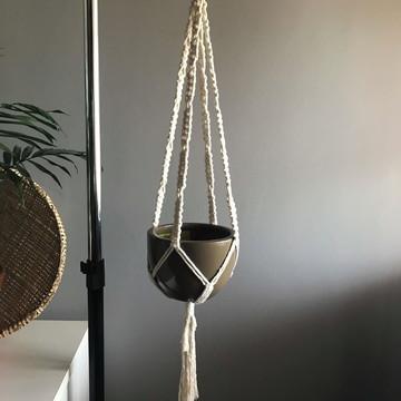 Suporte de plantas - Simplicidade | Hanger Macramê