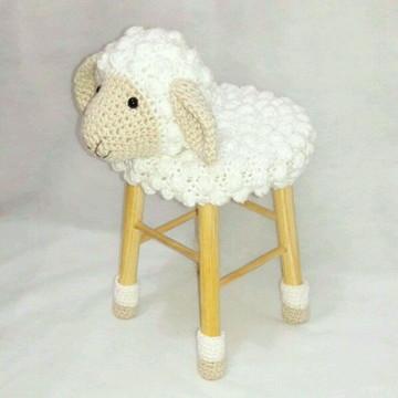 Banquinho completo de ovelhinha