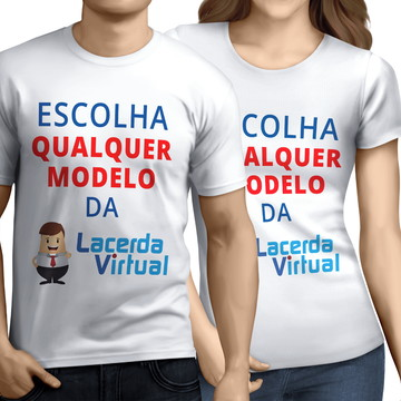 Kit, Combo, 2 Camisas, Camisetas - Frete Grátis