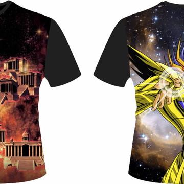 camiseta Cavaleiros dos Zodiaco - cancer