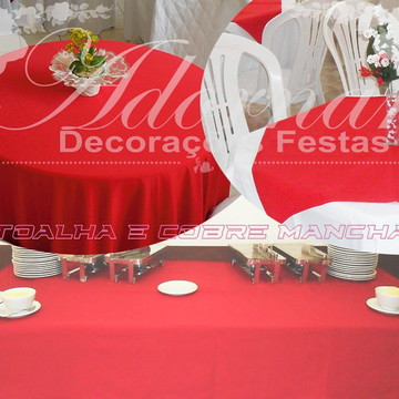 Aluguel de Toalhas e Cobre Manchas de Mesas Para Festas
