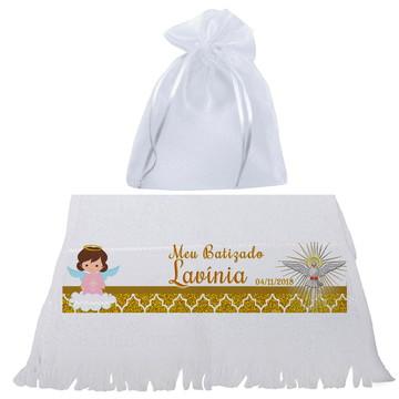 Lembrancinha de Toalha Batizado - Batismo - Festa