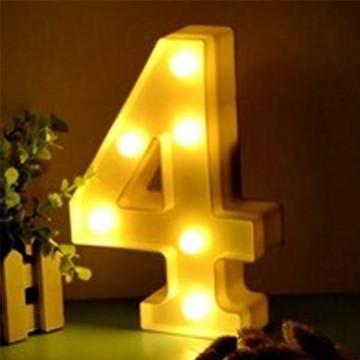 Luminária Led Número 4