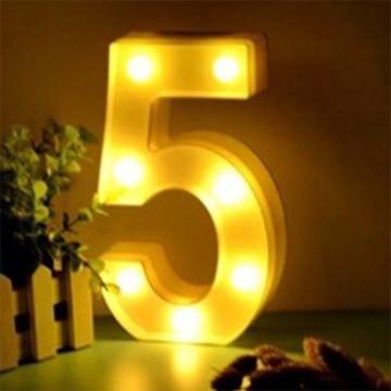 Luminária Led Número 5