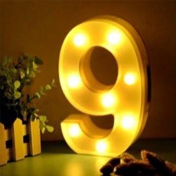Luminária Led Número 9