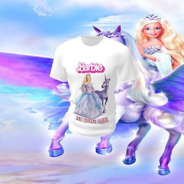 Camiseta Camisa Blusa Disney Barbie