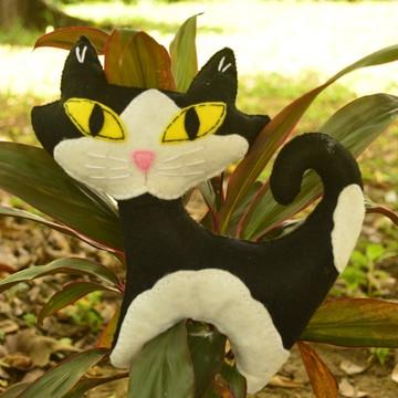 Almofada de Gato em feltro